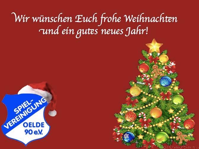 Ich Wünsche Euch Frohe Weihnachten Und Ein Gutes Neues Jahr.Frohe Weihnachten Und Einen Guten Rutsch Spielvereinigung Oelde