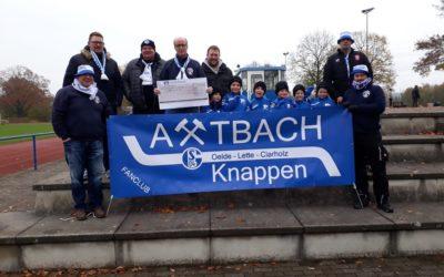 Spende der Axtbach Knappen e. V.